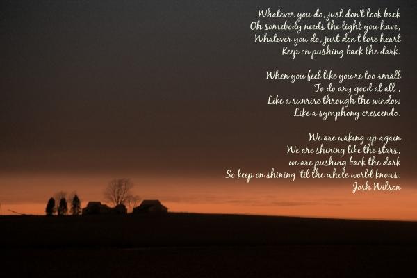 Josh Wilson lyrics