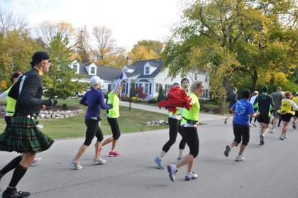 Fast forward to my last marathon photo.  Doesn't this image scream JOY!