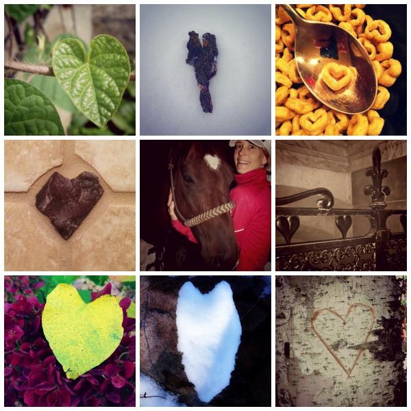 kristie heart Collage