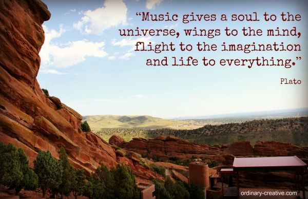 plato quote on red rocks photo