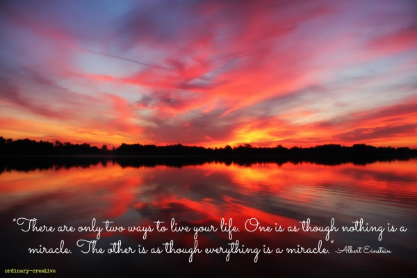 ordinary sunrise miracle quote