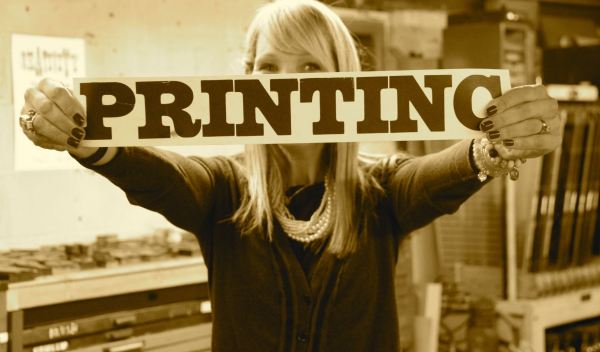 Ordinary Creative Letterpress