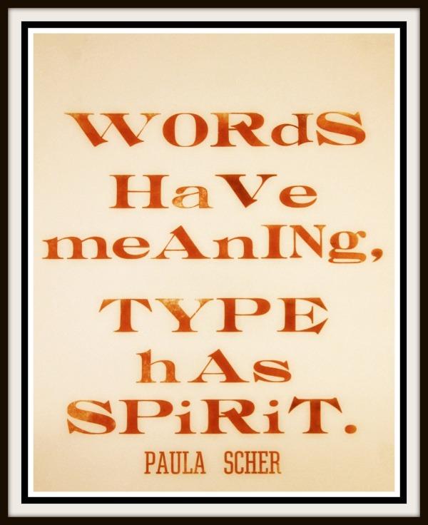 type spirit quote